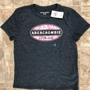 Abercrombie kids girls t-shirt 9/10 NWT